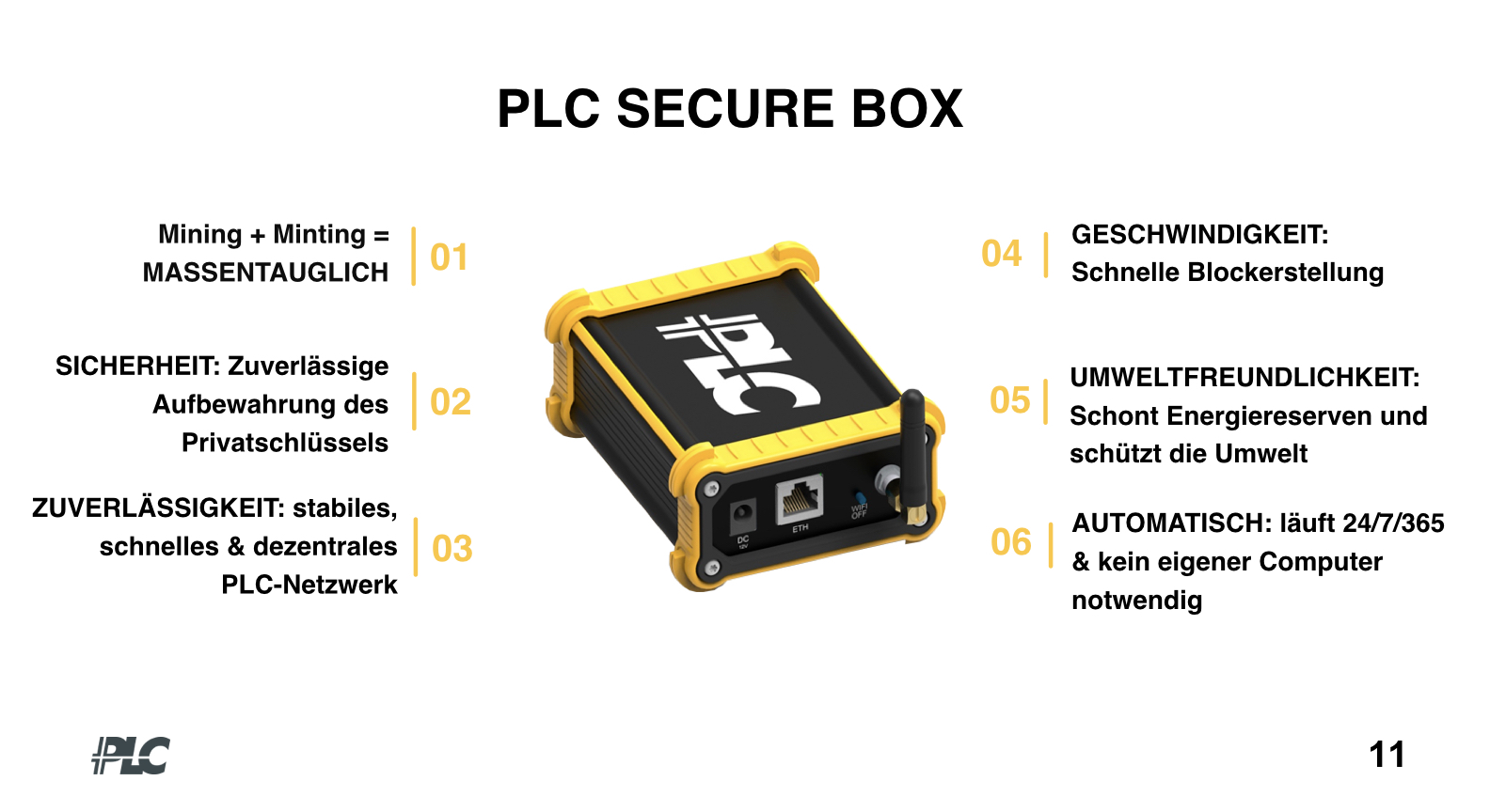 Platincoin-PLC-Secure-Box